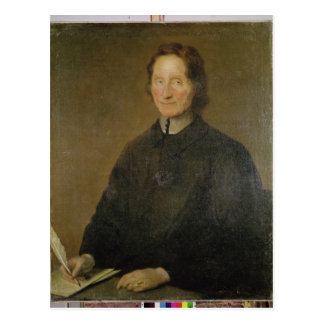 Portrait of Nicolas de Malebranche Postcard