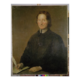 Portrait of Nicolas de Malebranche Poster