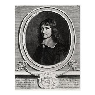 Portrait of Nicolas Fouquet  1662 Postcard