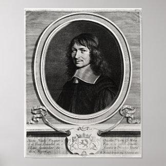 Portrait of Nicolas Fouquet  1662 Poster