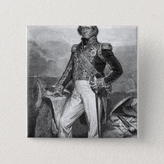Portrait of Nicolas Jean-de-Dieu 15 Cm Square Badge