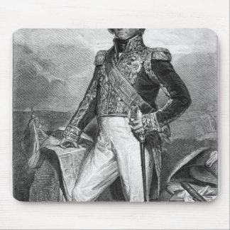 Portrait of Nicolas Jean-de-Dieu Mouse Mat