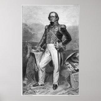Portrait of Nicolas Jean-de-Dieu Poster