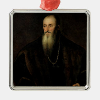 Portrait of Nicolas Perrenot de Granvelle, 1548 Christmas Ornament