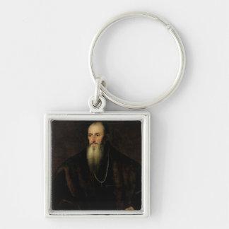 Portrait of Nicolas Perrenot de Granvelle, 1548 Key Ring