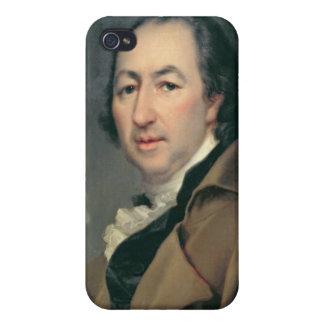 Portrait of Nikolai Ivanovich Novikov iPhone 4/4S Covers