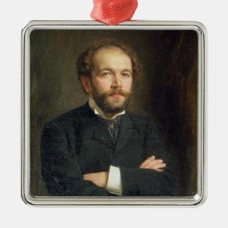 Portrait of Nikolai Karlovich Medtner  1906 Christmas Ornament