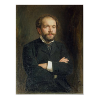 Portrait of Nikolai Karlovich Medtner  1906 Poster