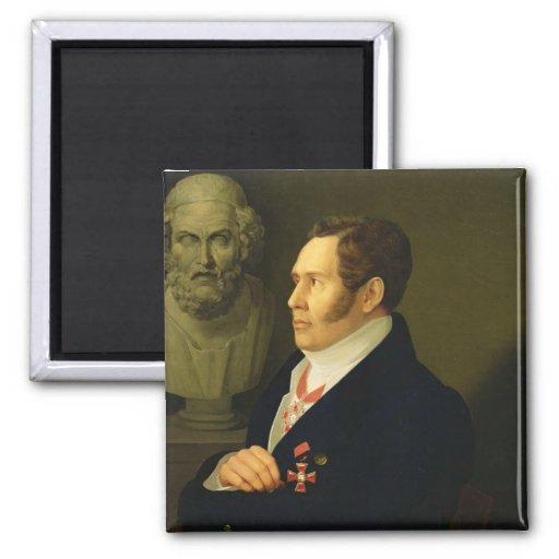 Portrait of Nikolay Gnedich, 1839 Magnet