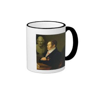Portrait of Nikolay Gnedich, 1839 Coffee Mugs