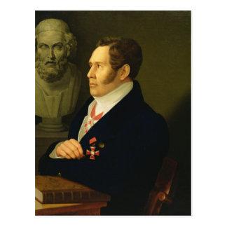 Portrait of Nikolay Gnedich, 1839 Postcard
