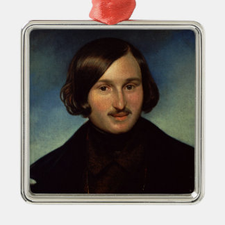 Portrait of Nikolay Gogol, 1841 Christmas Ornament
