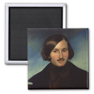 Portrait of Nikolay Gogol, 1841 Magnet