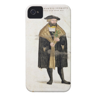 Portrait of of the author age 41, from 'De Histori Case-Mate iPhone 4 Case