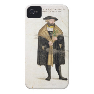 Portrait of of the author age 41, from 'De Histori iPhone 4 Case