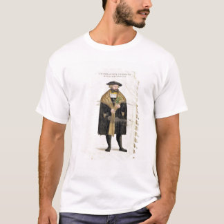 Portrait of of the author age 41, from 'De Histori T-Shirt
