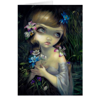 Portrait of Ophelia Greeting Card