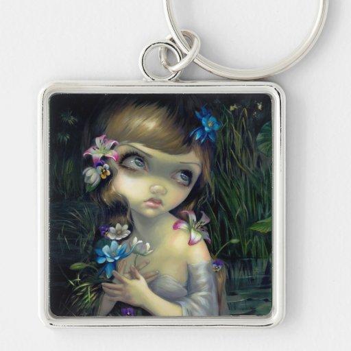 """""""Portrait of Ophelia"""" Keychain"""
