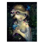 """Portrait of Ophelia"" Postcard"