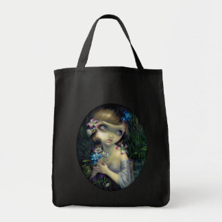 Portrait of Opheliia BAG gothic romantic big eyes