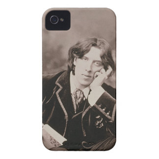 Portrait of Oscar Wilde (1854-1900), 1882 (b/w pho iPhone 4 Cover