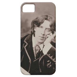 Portrait of Oscar Wilde (1854-1900), 1882 (b/w pho iPhone 5 Case