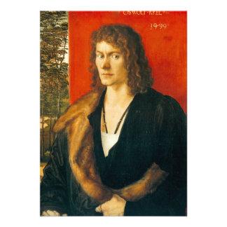 Portrait of Oswolt Krel by Albrecht Durer Announcements