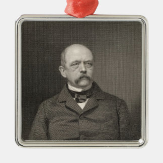 Portrait of Otto von Bismarck Christmas Ornament