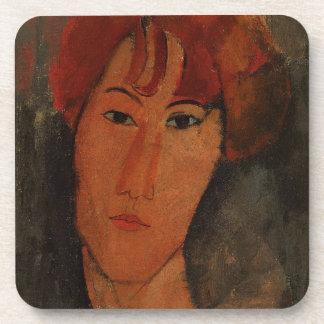 Portrait of Pardy, c.1915 (oil on canvas) Beverage Coasters
