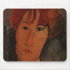 Portrait of Pardy, c.1915 (oil on canvas) Mouse Mat