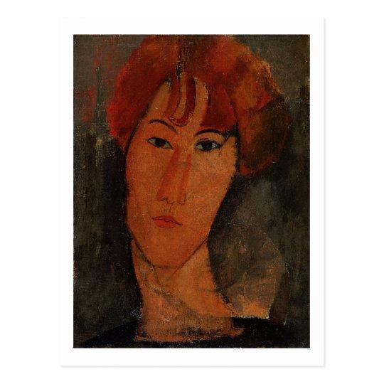 Portrait of Pardy, c.1915 (oil on canvas) Postcard