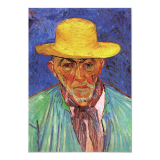 Portrait of Patience Escalier, Shepherd - van Gogh 13 Cm X 18 Cm Invitation Card