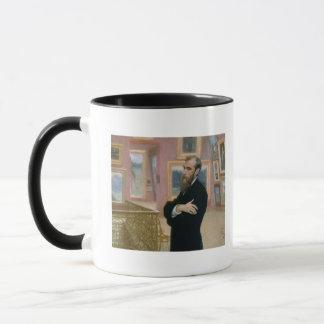 Portrait of Pavel Tretyakov  in the Gallery Mug