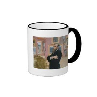 Portrait of Pavel Tretyakov  in the Gallery Ringer Mug