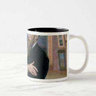 Portrait of Pavel Tretyakov  in the Gallery Two-Tone Coffee Mug