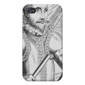 Portrait of Pedro de Valdibia Cover For iPhone 4