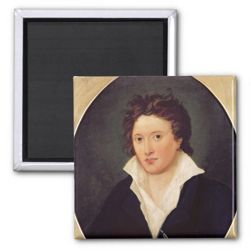 Portrait of Percy Bysshe Shelley, 1819 Refrigerator Magnet