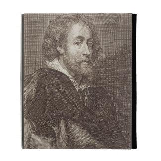 Portrait of Peter Paul Rubens (1577-1640) plate 30 iPad Folio Case