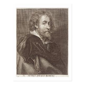 Portrait of Peter Paul Rubens (1577-1640) plate 30 Postcard
