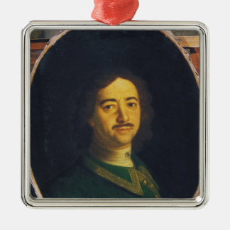 Portrait of Peter the Great Christmas Ornament
