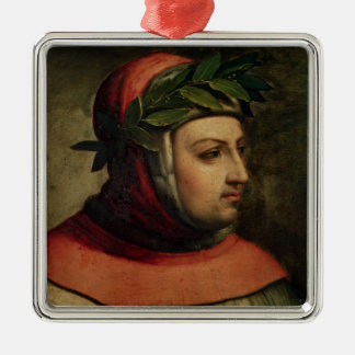 Portrait of Petrarch Christmas Ornament