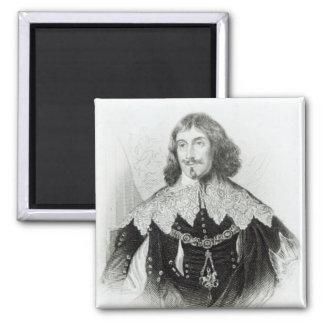 Portrait of Philip Herbert Fridge Magnet
