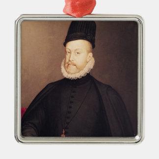 Portrait of Philip II  c.1580 Christmas Ornament