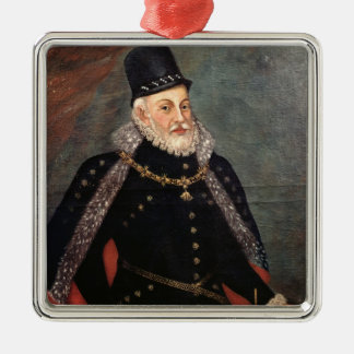 Portrait of Philip II  of Spain 2 Christmas Ornament