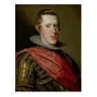 Portrait of Philip IV  in Armour, 1628 Postcard