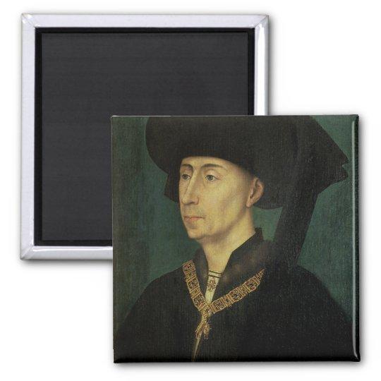 Portrait of Philip the Good  Duke of Burgundy Magnet