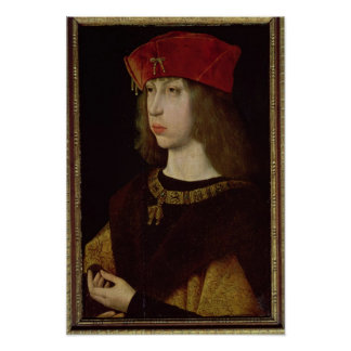 Portrait of Philip the Handsome Poster