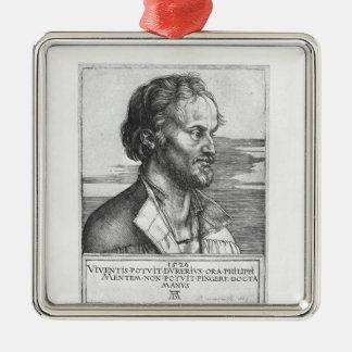 Portrait of Philipp Melanchthon, 1526 Christmas Ornament