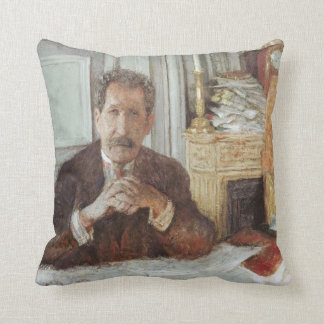 Portrait of Philippe Berthelot Cushion