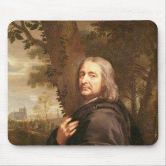 Portrait of Philippe de Champaigne, 1668 Mouse Pad